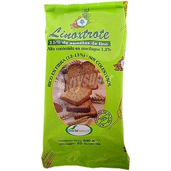 Soria Natural Linoxtrote biscotes de lino integrales Envase 300 g