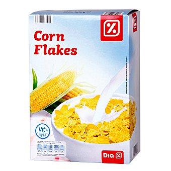 DIA Cereales corn flakes copos de maiz tostado paquete 500 gr Paquete 500 gr