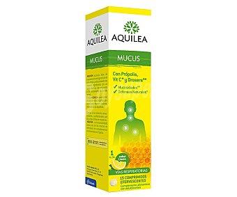 Aquilea Complemento alimenticio con sabor a limón que ayuda a eliminar la mucosidad Envase 15 uds