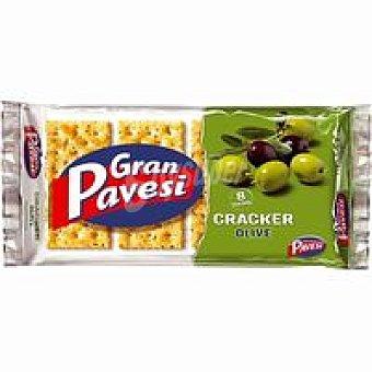 Gran Pavesi Cracker con olivas 250 g