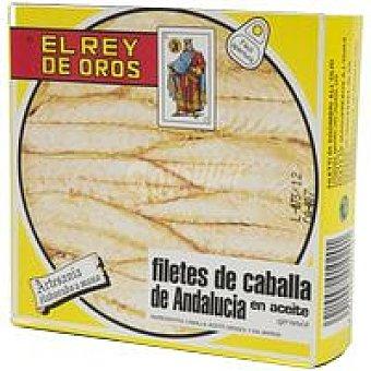 REY del SUR Filete de caballa en aceite de girasol Lata 720 g