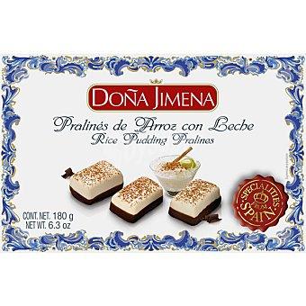 Doña Jimena Pralinés de arroz con leche Estuche 180 g