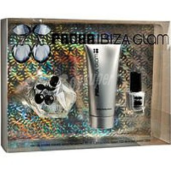 Pachá Ibiza Colonia Glam Vaporizador 80 ml + body milk + laca uñas