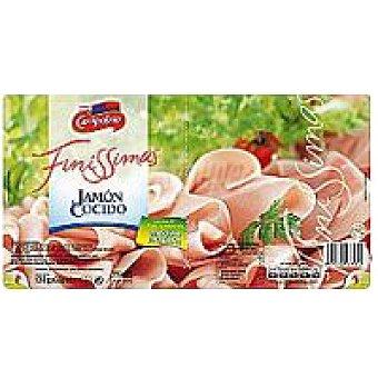 Campofrío Finissimas Jamón cocido Pack 2x65 g