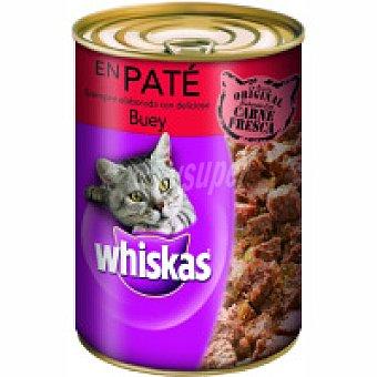 Whiskas Alimento con buey-carne de vaca Lata 400 g