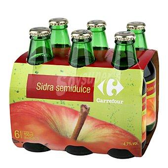 Carrefour Sidra Asturiana Pack 6x25 cl