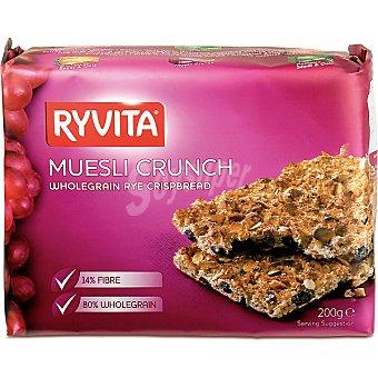 RYVITA Pan crujiente de centeno integral  paquete 200 g