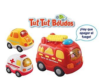 V-tech Set de 3 vehículos Tut Tut, ambulancia, camión de bomberos y coche 1 Unidad