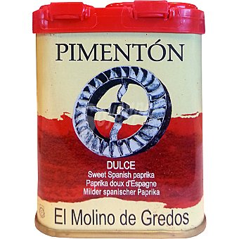 El molino de gredos pimentón dulce lata 70 g