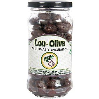 Lou-oliva Aceitunas negras empeltre del Bajo Aragón Frasco 200 g