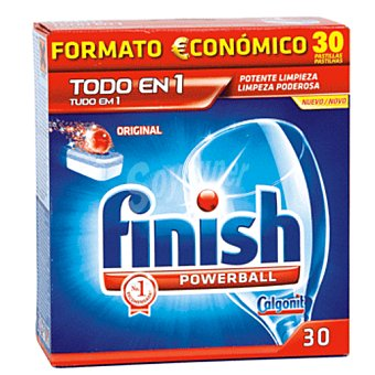 Finish Todo en 1 original regular 30 pastilla
