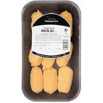 Basarri Croquetas de bacalao Bandeja 300 g