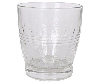 Royal Vaso de vidrio transparente con diseño retro en relieve, 0,35 litros Olympea leerdam leerdam Olympea