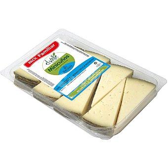 El valle Minicuñas de queso de mezcla semicurado Envase 400 g