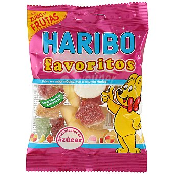 Haribo Gominolas con azúcar Bolsa 90 g