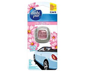 AMBIPUR CAR Ambientador de coche para rejilla de ventilación con a olor a brisa floral 1 unidad