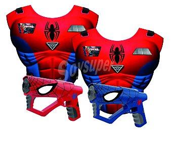 IMC Juego de Acción Mega Laser Spiderman, 2 Jugadores 1 Unidad