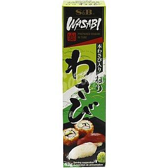 Yu fong Neri wasabi en pasta paquete 43 g Paquete 43 g
