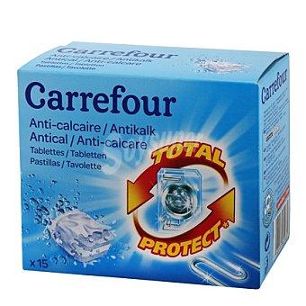 Carrefour Antical para lavadora en pastillas 15 ud