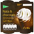 Copa de chocolate y nata 4 unidades de 100 g El Corte Inglés
