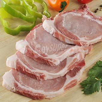 Carrefour Chuleta de lomo de cerdo Bandeja de 500 g