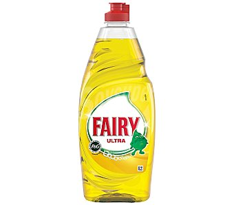 Fairy Lavavajillas mano limón Botella 615 ml