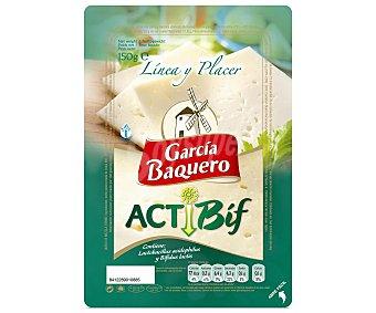 García Baquero Queso en lonchas (contiene lactobacillus acidophilus y bífidus lactis) 150 gramos