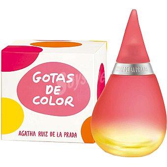 Ágatha Ruiz de la Prada Colonia para mujer Gotas de Color Frasco 50 ml