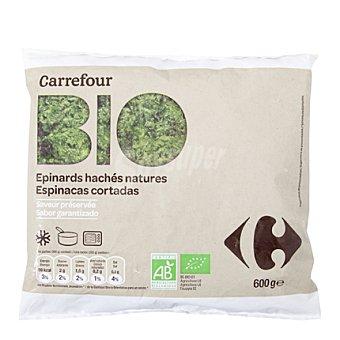 Carrefour Bio Espinacas cortada 600 g