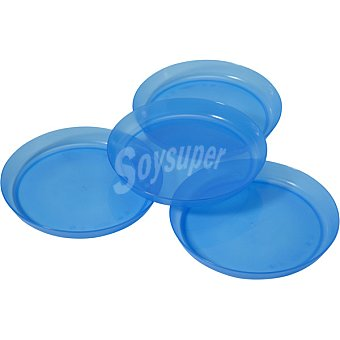 Dombi Set 4 platos de plástico