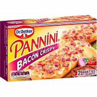 Dr. Oetker Pannini Crispy bacón Caja 250 g