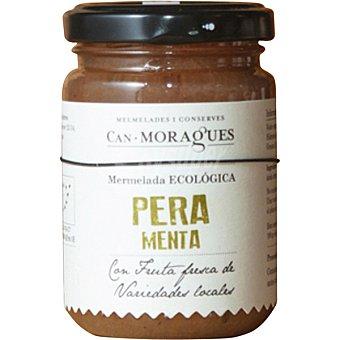 Can Moragues Mermelada de pera con menta ecológica tarro 170 g tarro 170 g