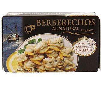 Alta Cocina Gallega Berberechos pequeños al natural 63 gramos