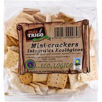 TRIGO Mini cracker integral MÁS Bolsa 150 g