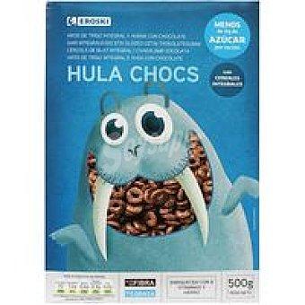 Eroski Cereales Aro Hula Chocs Caja 500 g