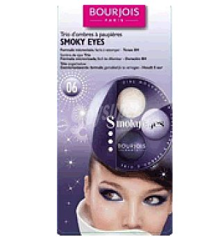 Bourjois Sombra ojos trio smoky eyes violet romantic 1 ud