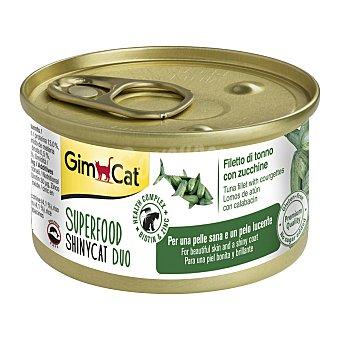 Shiny CAT DUO alimento húmedo para gatos con atún y calabacín Envase 70 g