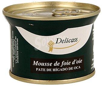 Delicass Paté de hígado de oca 130 gramos