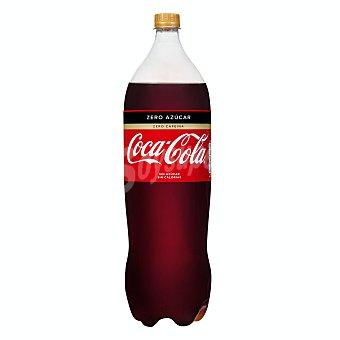 Coca-Cola Refresco de cola zero azúcar sin cafeína Botella 2 l