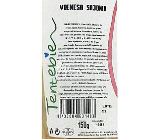 Lord Sandwiches Vienesa Sajonia 150 Gramos