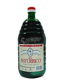 El Baturrico Vino de mesa 2 l