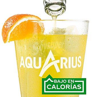 Aquarius Bebida isotónica de naranja Lata de 33 centilitros pack de 9