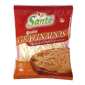 Santé Queso rallado especial gratinar Bolsa 150 gr
