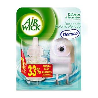 Air Wick Ambientador eléctrico Nenuco + recambio 1 ud