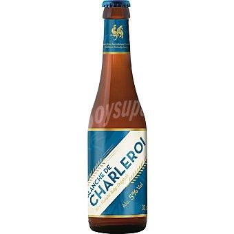 BLANCHE DE CHARLEROI cerveza rubia belga de trigo  botella 33 cl