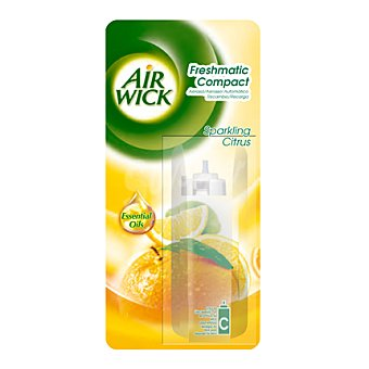 Air Wick Ambientador Automático Compact Recambio Orange & Lemon 1 ud