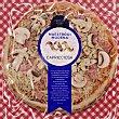 Capricciosa Premium individual pizza de fiambre de cerdo champiñón y queso provolone modena Envase 350 g Maestro