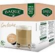 Café con leche sin gluten Estuche 10 cápsulas Café Baqué
