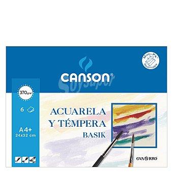 Canson Papel para Acuarela A4 6 ud
