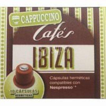 Cafés Ibiza Cápsulas de café cappuccino 50gr